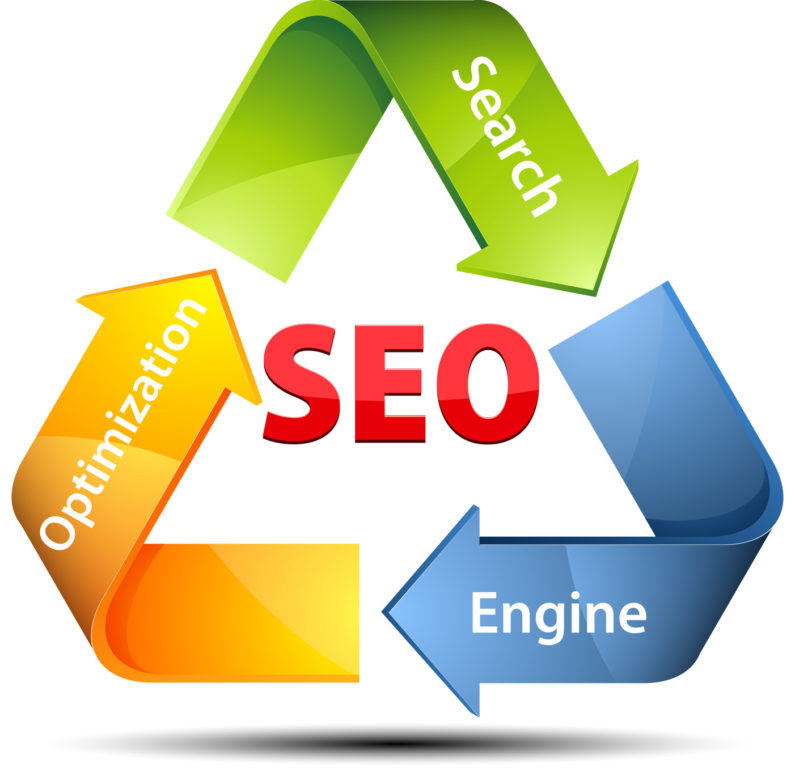 SEO recicle arrows