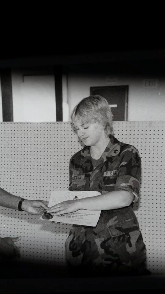 Valerie Lancaster, US Army