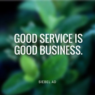 Good Service is Good Business Dec 2018