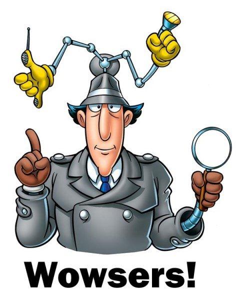 Inspector Gadget Wowsers Dec 2018
